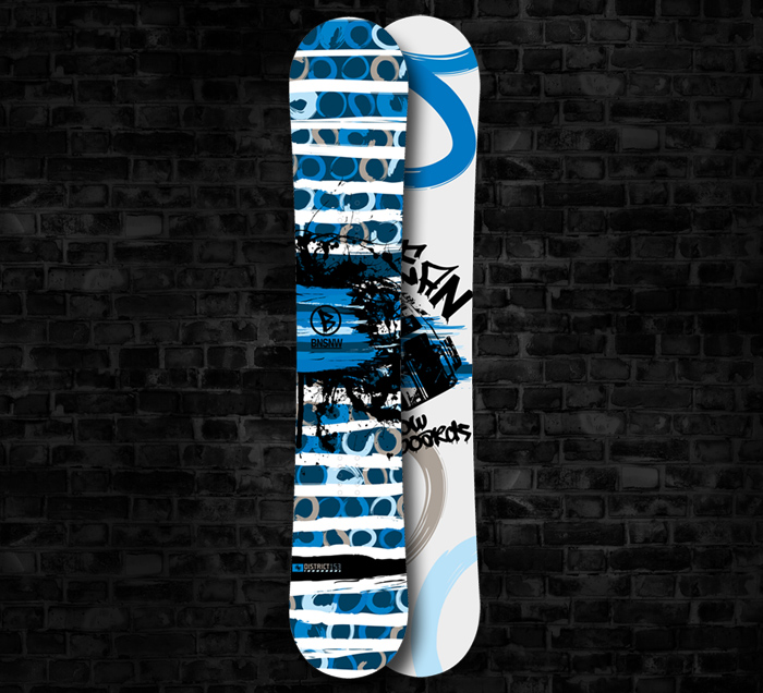 <b>Bean Snowboards</b> <br> District (Series 1)